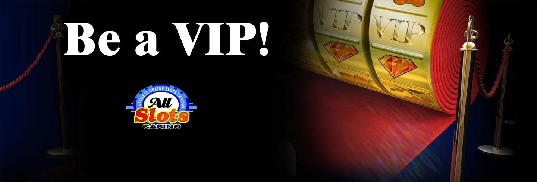 VIP program at All Slots casino