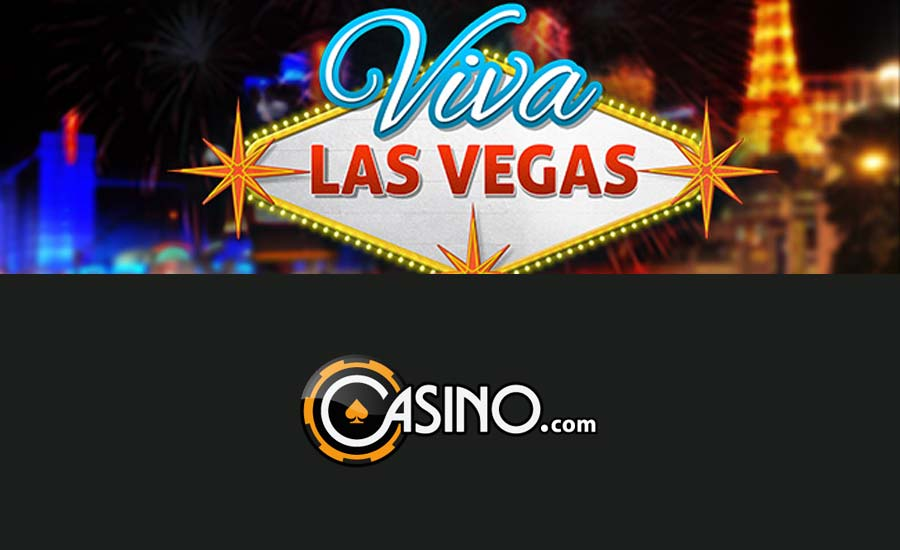 Viva Las Vegas promo at Casino.com and Slots Heaven casino