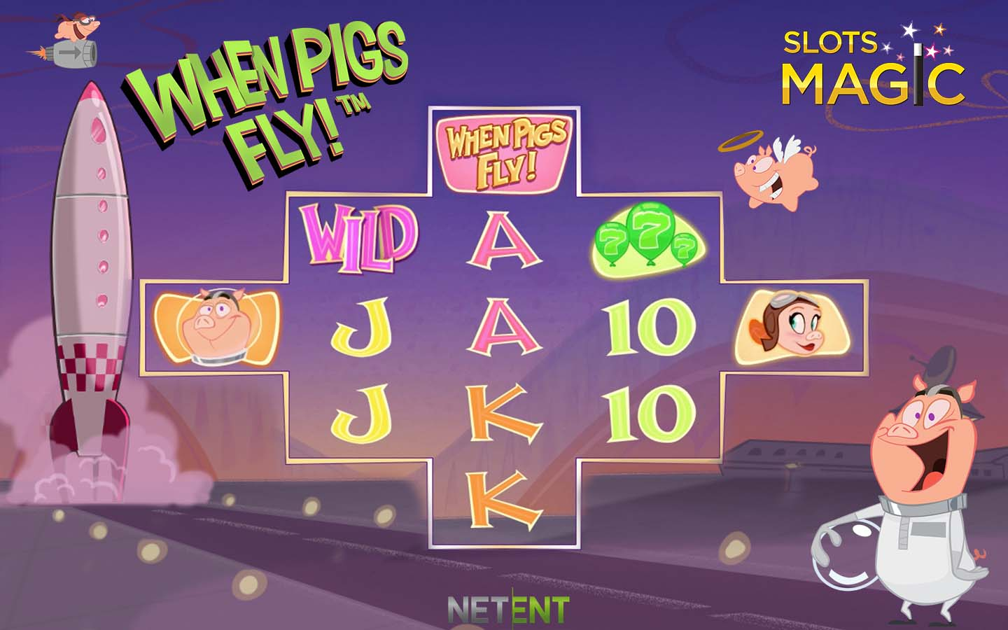 When Pigs Fly at Slots Magic casino