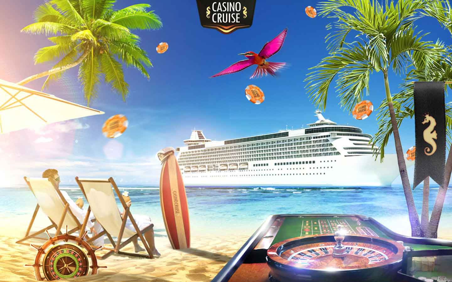 Win a cruise trip with Casino Cruise