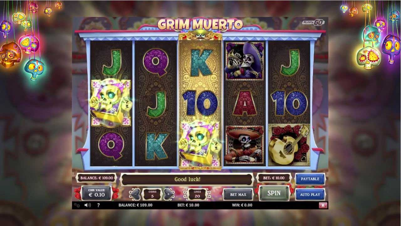 Grim Muerto slot by Play'n Go
