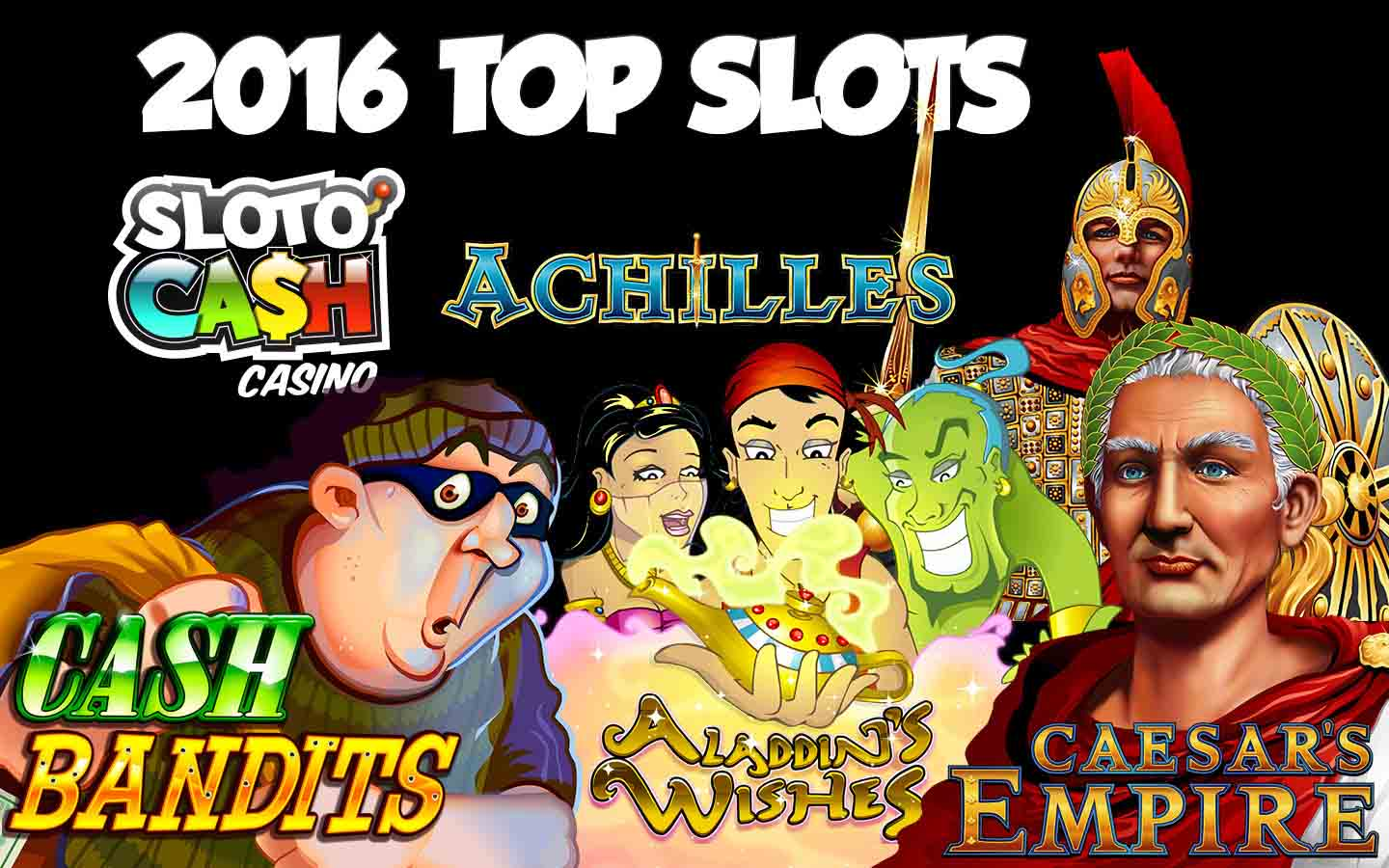 Top slots bonuses at SlotoCash casino